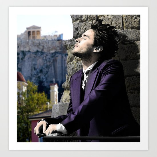 Jared and The Acropolis Art Print