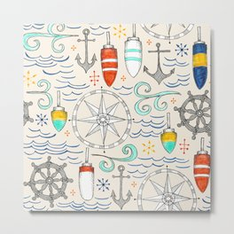 nautical Metal Print