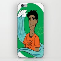 percy jackson iPhone & iPod Skins featuring Percy by simone kett