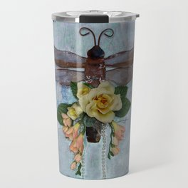 Dragonfly Love by Kathy Morton Stanion Travel Mug