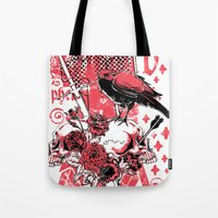 religious Tote Bags featuring Religious war by Tshirt-Factory
