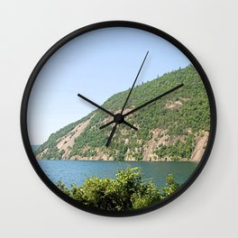 Roger's Rock on Lake George, NY Wall Clock
