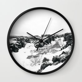 Þingvellir Wall Clock