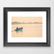 Early Start Framed Art Print