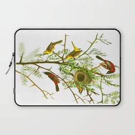 Orchard Oriole Bird Laptop Sleeve
