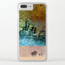 Desert-Dream 5 Clear iPhone Case
