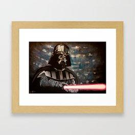 JOIN ME. Framed Art Print