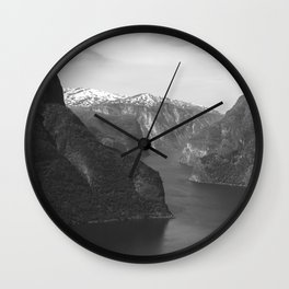 Norwegian Nature Wall Clock