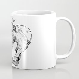 Pelvic Bone Coffee Mug