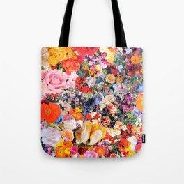 Garden Variety collage art Tote Bag