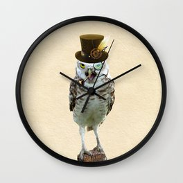 Lord Of The Owls Wall Clock