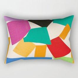 Henri Matisse - The Snail cut-out series portrait painting Rectangular Pillow