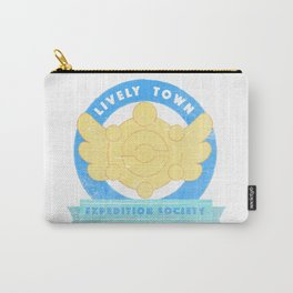 Lively Town Expedition Society Carry-All Pouch