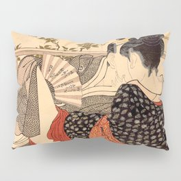 Lovers in an Upstairs Room Pillow Sham
