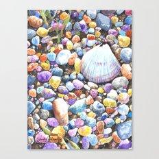 Rainbow Rocks Canvas Print