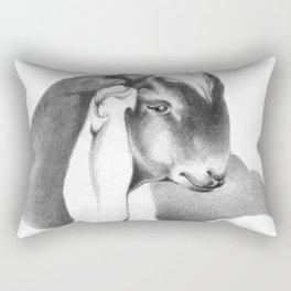 Anglo Nubian Buck Kid 2 Rectangular Pillow
