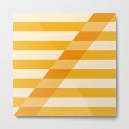 Striped Shadow 2 Metal Print
