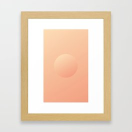 Shape 1 Framed Art Print