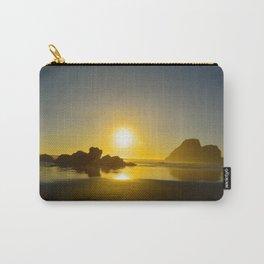 Trinidad Beach Sunset Carry-All Pouch