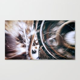 Machine Speed Warp in Blur Canvas Print