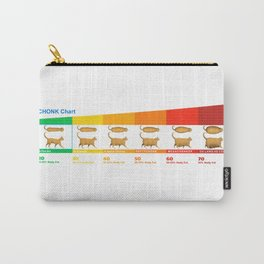 Cat CHONK Chart Meme Carry-All Pouch