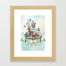 Deer me Framed Art Print