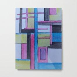 Abstraction Metal Print