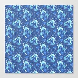 fleur de otachi - dark Canvas Print
