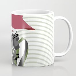 A Woman Playing Violin Coffee Mug