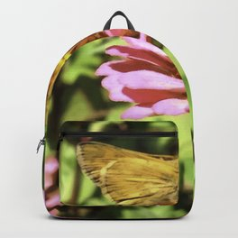 Not A Moth But A Small Skipper Butterfly Backpack