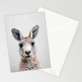 Kangaroo - Colorful Stationery Cards