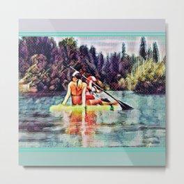 Paddle Metal Print
