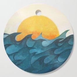 Sunrise Cutting Board