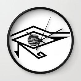 EYE OF COSMICA Wall Clock