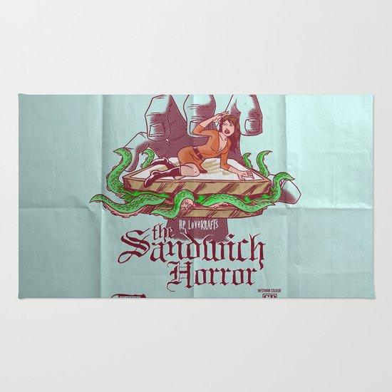 H.P. LoveKRAFT's  The Sandwich Horror Rug