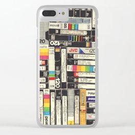 VHS I Clear iPhone Case