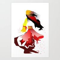gypsy Art Prints featuring Gypsy by sladja
