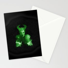 Maleficent's Evil Spell / Sleeping Beauty Stationery Cards