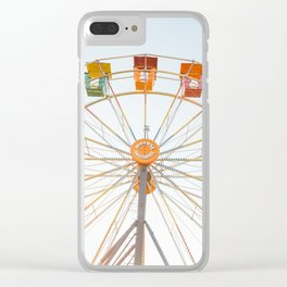 Summertime Fun Clear iPhone Case