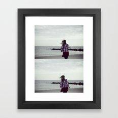 We Are (not in love) Framed Art Print