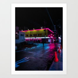 Lucky nights Art Print