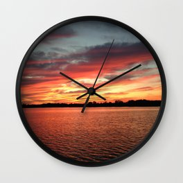 Randy's Sunset Wall Clock