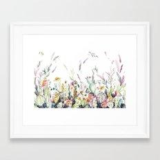 Santa Fe Cactus Love Framed Art Print