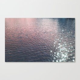 Stars in Water Canvas Print
