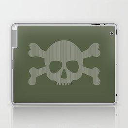 skull stripes Laptop & iPad Skin
