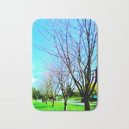 Pleasant Valley Trees Bath Mat