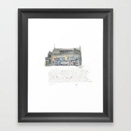 46 Fredrick Street Framed Art Print