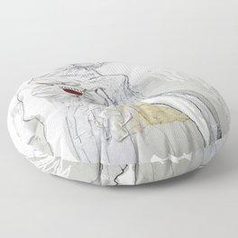 sonik youth Floor Pillow