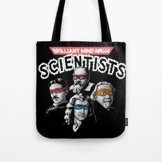 Brilliant Mind Ninja Scientists Tote Bag