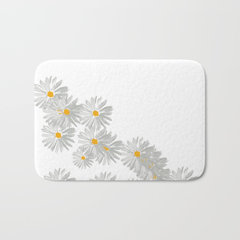 Flower White Minimal Margarita Daisy